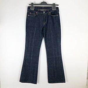7 For All Mankind Womens 29 Jeans Flare Blue